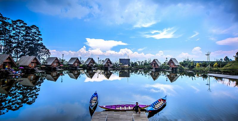 Wisata Alam Dusun Bambu Lembang